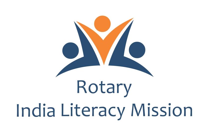 Rotary India Literacy Mission Logo