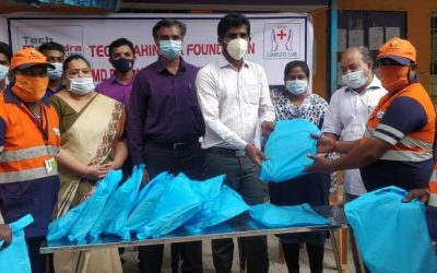 Distribution of PPE Kits to Sanitation Workers