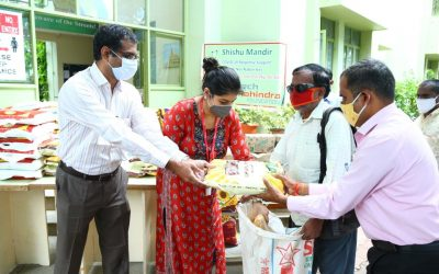 Dry Ration Kit Distribution to Persons with Disabilities